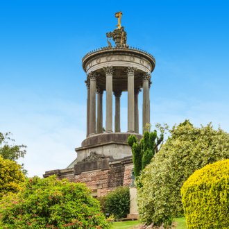 Het Burns Monument in Alloway