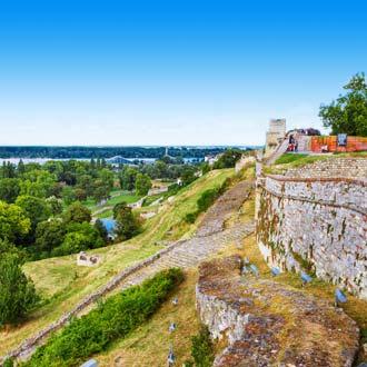 Servie Belgrado Kalemegdan-park