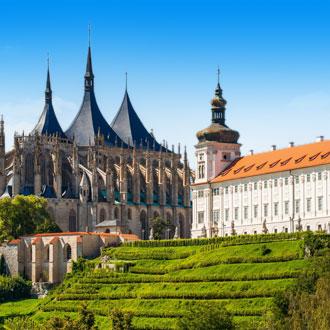 Sint barbara kasteel in Tsjechië