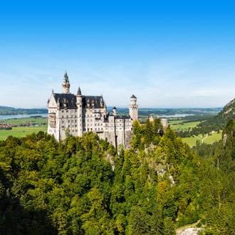 Het Slot Neuschwanstein kasteel in Duitsland