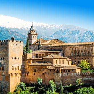 Alhambra kasteel in Granada, Spanje