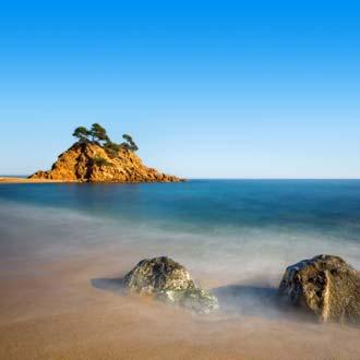 De Spaanse kust Playa de Aro