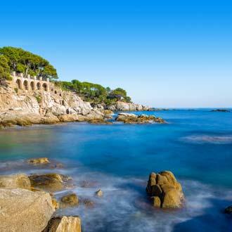 Prachtig landschap van Playa de Aro