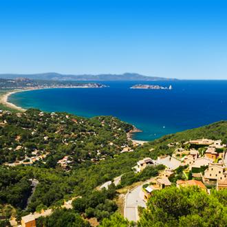 De kust van Begur in Spanje