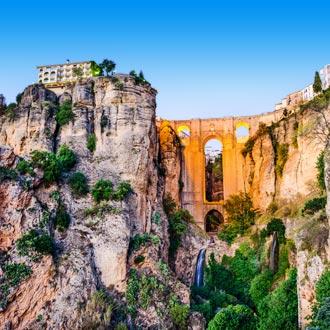 Puente Nuevo Bridge in Ronda, Spanje