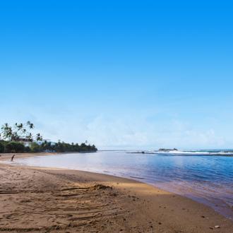 Landschap van de zuidkust Sri Lanka