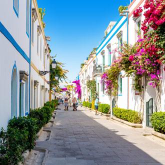 Gekleurde huizen Puerto de Mogan