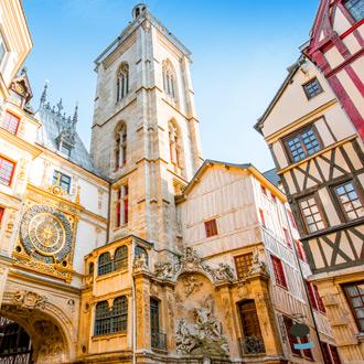 Straat van Rouen in Normandie