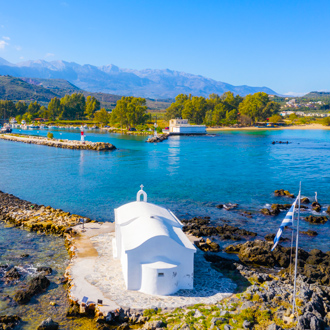 Strand-Georgioupolis-Kreta-Griekenland