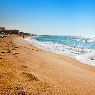 Strand Malgrat de Mar