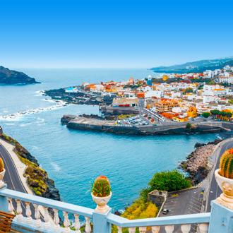 Schilderachtig dorpje Garachico, aan zee op Tenerife.
