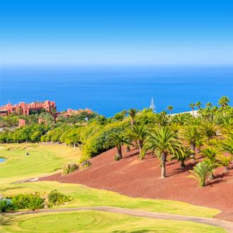 Golfbaan San Juan in Tenerife, op de Canarische Eilanden.