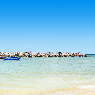 Cha-Am strand in Centraal-Thailand