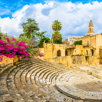 Het Romeins amfitheater in Lecce