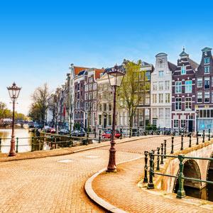 Vakantie in Nederland in de stad
