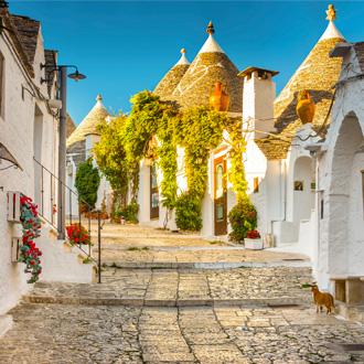 Trulli van alberobello, Puglia, Italie