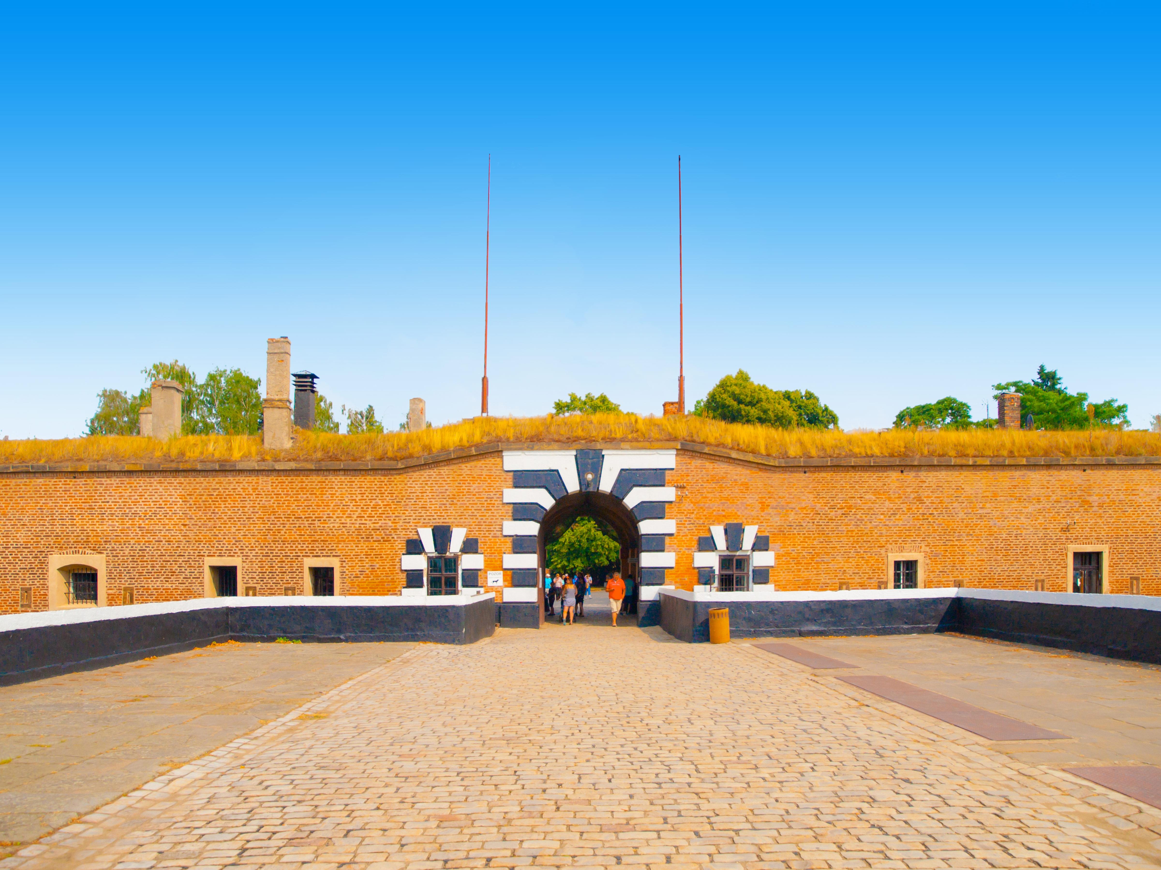 Fort van Terezin uit de 2e wereldoorlog vlakbij Praag