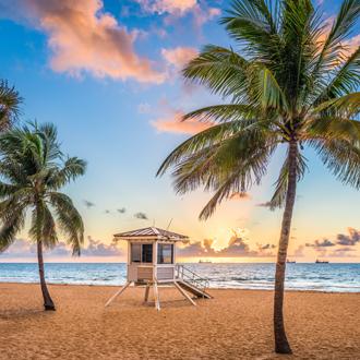 Uitzicht op Fort Lauderdale