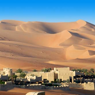 Woestijn in Abu Dhabi