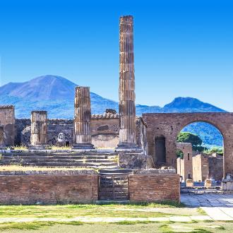 Vesuvius in Pompei