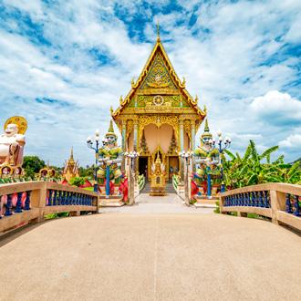 Wat Plai Laem, boeddistische Tempel in Koh Samui, Surat Thani, Thailand
