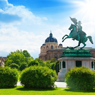 Prachtig monument in Wenen
