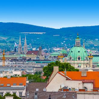 Uitzicht over de stad Wenen