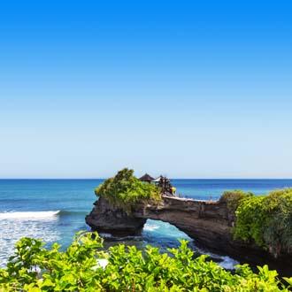 Zeetempel Tanah Lot in Bali, Indonesie