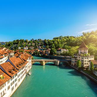 Oude stad van Bern in Zwitserland