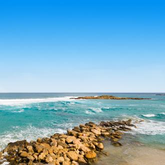 duiken cape greco golven bij protaras