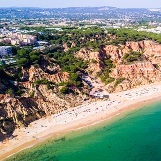 Foto van Falesia strand, Algarve, Portugal