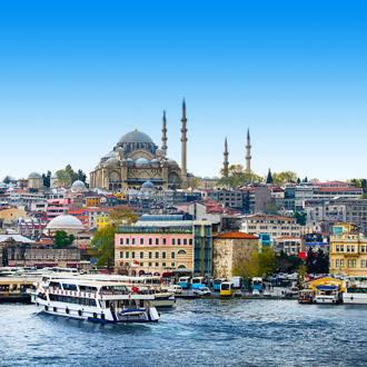Foto van Istanbul de hoofdstad van Turkije