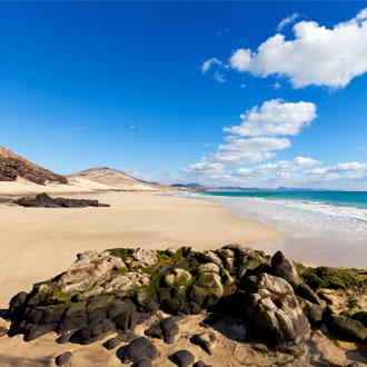Foto van het strand van Esquinzo op Fuerteventura