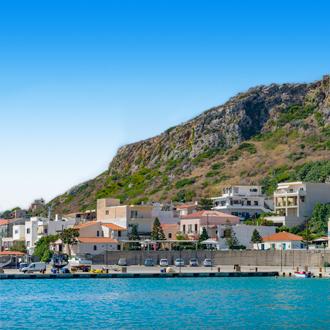 Kolymbari met huisjes aan zee Chania op Kreta