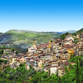 Prachtige dorp Saorge in Frankrijk