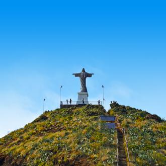 Standbeeld in Canico, Portugal