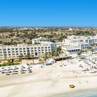 Uitzicht op Club Calimera Yati Beach in Midoun