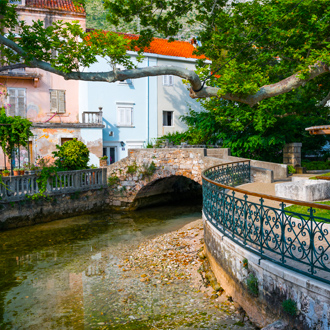 Stadsdeel van Mlini in Kroatië