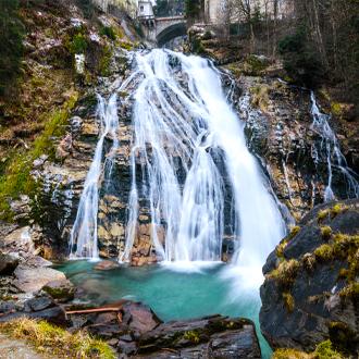 waterval-in-Bad-Gastein-Oostenrijk