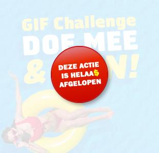 Gif Challenge: Win een reispakket!