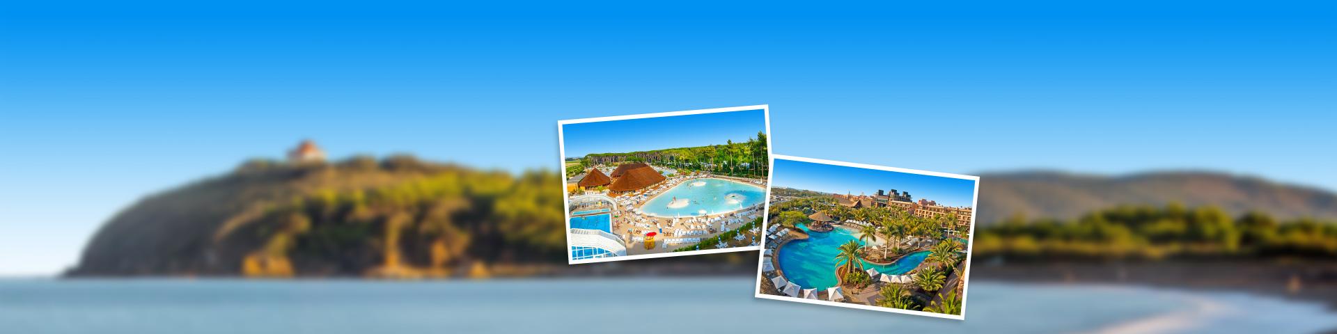Hotels met zwembaden van de Jong Intra Vakanties