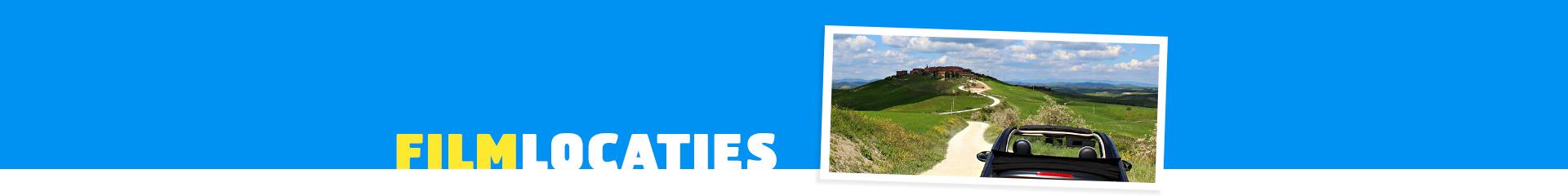 Filmlocatie Toscaanse Bruiloft - fiat door de bergen