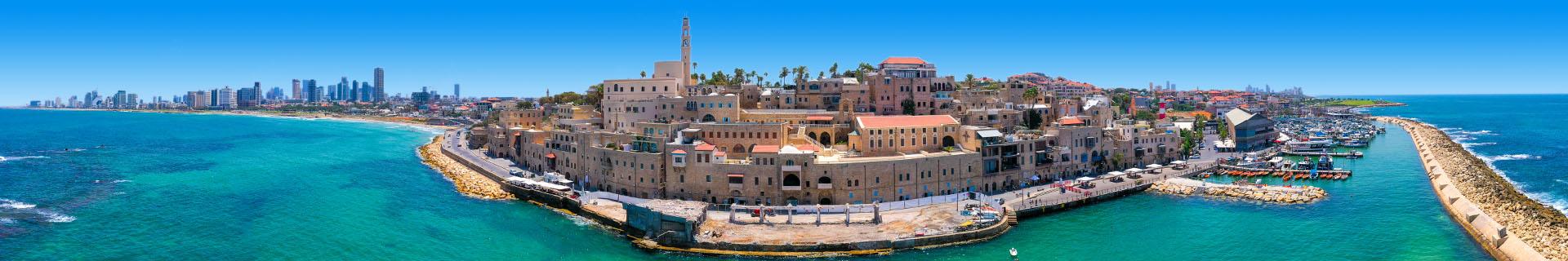 Uitzicht van het geweldige Israel