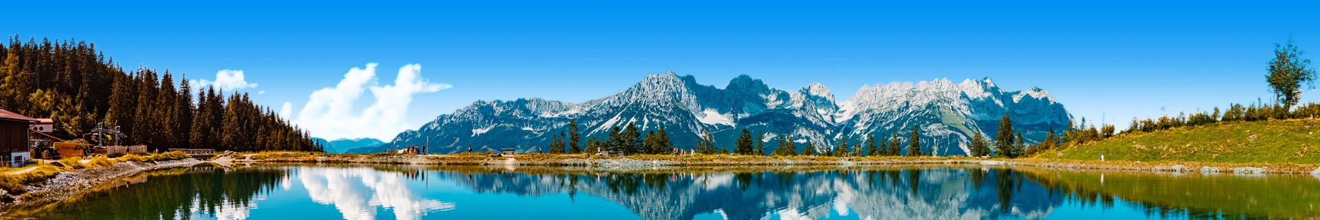 Prachtig landschap van Oostenrijk