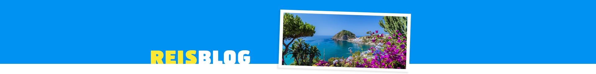 Uitzicht over Italiaans eiland