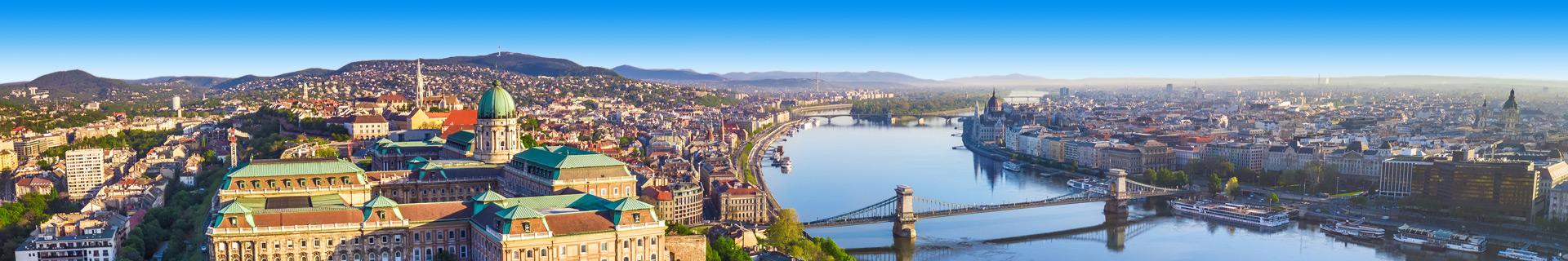 Uitzicht op het mooi Hongarije