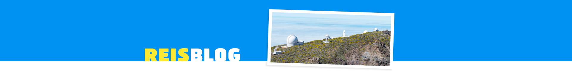 Uitzicht op het landschap van de Canarische Eilanden
