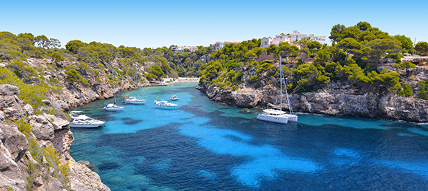 Prachtige baai op Mallorca