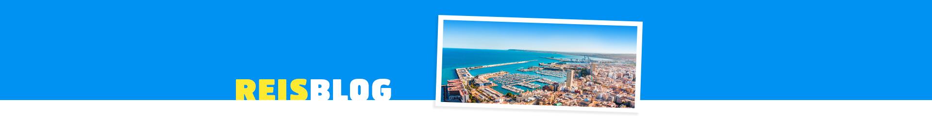 De stad van Alicante