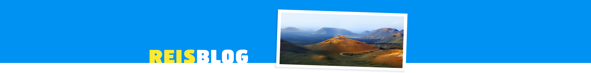 Prachtig landschap op de Canarische Eiland Lanzarote